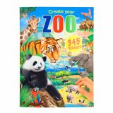 Create your ZOO pysselbok med 345 stickers