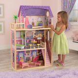 LekVira.se - Kayla dockhus Barbiehus med 11 möbler