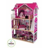 LekVira.se - Dockhus Barbiehus Amelia inkl 14 st möbler