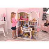 LekVira.se - Stort Barbiehus Magnolia Mansion inkl 14 möbler