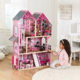 LekVira.se - Dockhus Barbiehus Bella inkl möbler