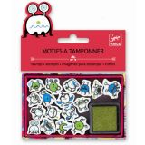 Small, stamps, Emoticons
