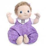 LekVira.se - Rubens baby docka Emma med lila heldress
