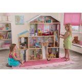 LekVira.se - Dockhus Barbiehus Majestic med möbler