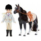 LekVira.se - Lottie Pony Club docka och häst