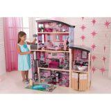 LekVira.se - Stort Barbiehus Sparkle med möbler 30 delar