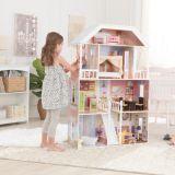 LekVira.se - Dockhus Barbiehus Savannah med möbler