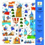 LekVira.se - Stickers Riddare 160 st Djeco