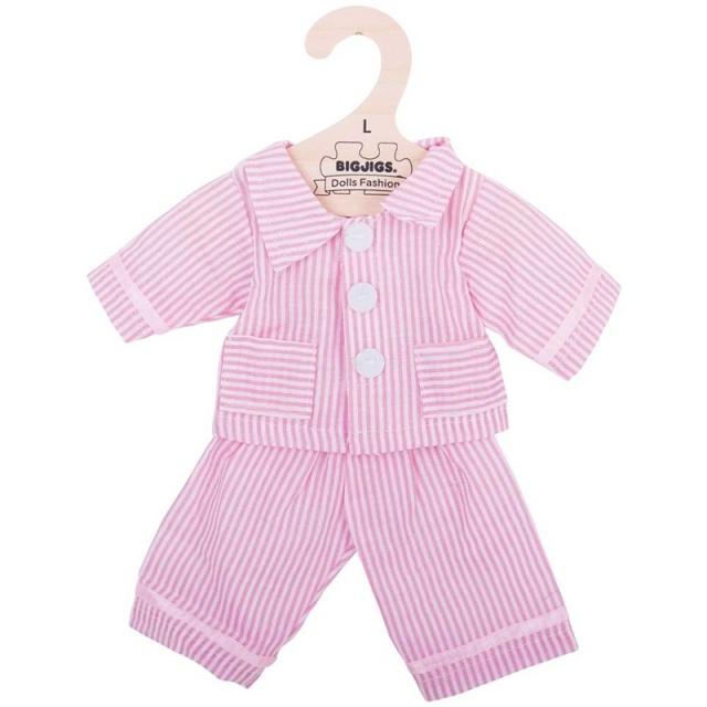 c5133cd867fc rosa pyjamas 33 38 cm från bigjigs alla dockkläder
