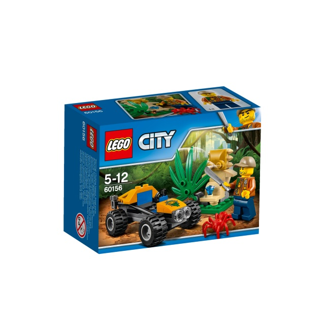 Djungel - buggy LEGO® City 60156