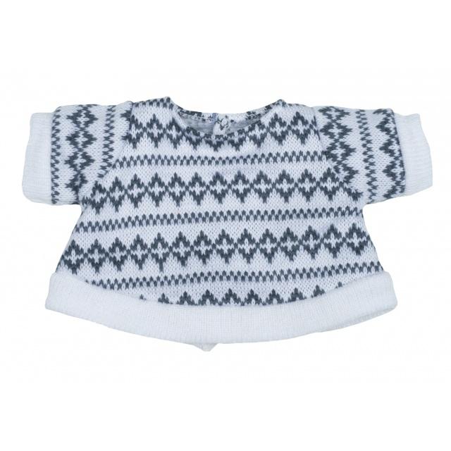 1b16416f1580 stickad tröja med mönster från rubens barn kläder till ark och kids