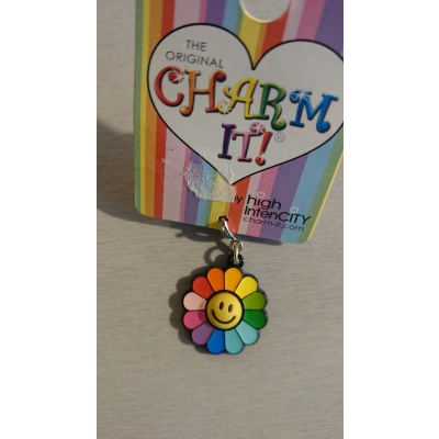 Charm smiley blomma