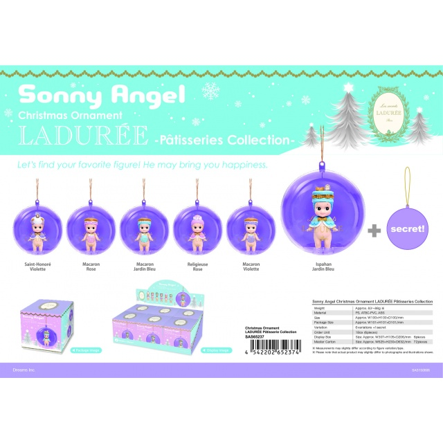 Sonny Angel Julkula display 6 st